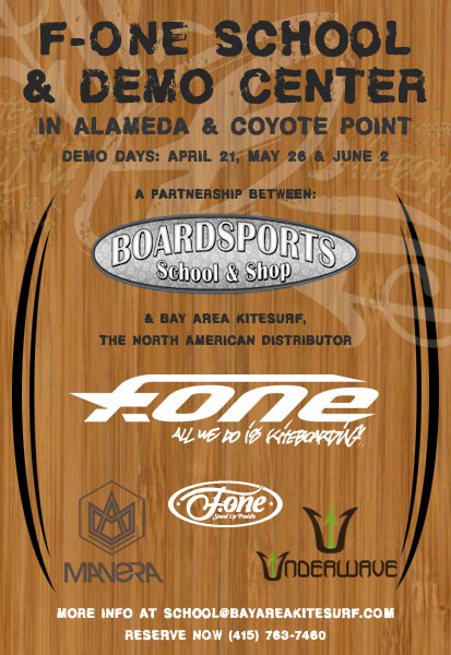 F-One Americas BoardSports School and Shop Partnership