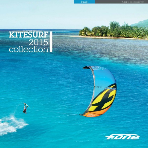 F-ONE 2015 Kitesurf Cover