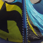 "LTD Watersports reviews the 17m BANDIT 8 ""best light wind kite we have tested for 2015"""