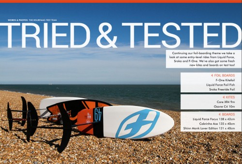 iksurfmag issue 52 f-one foil