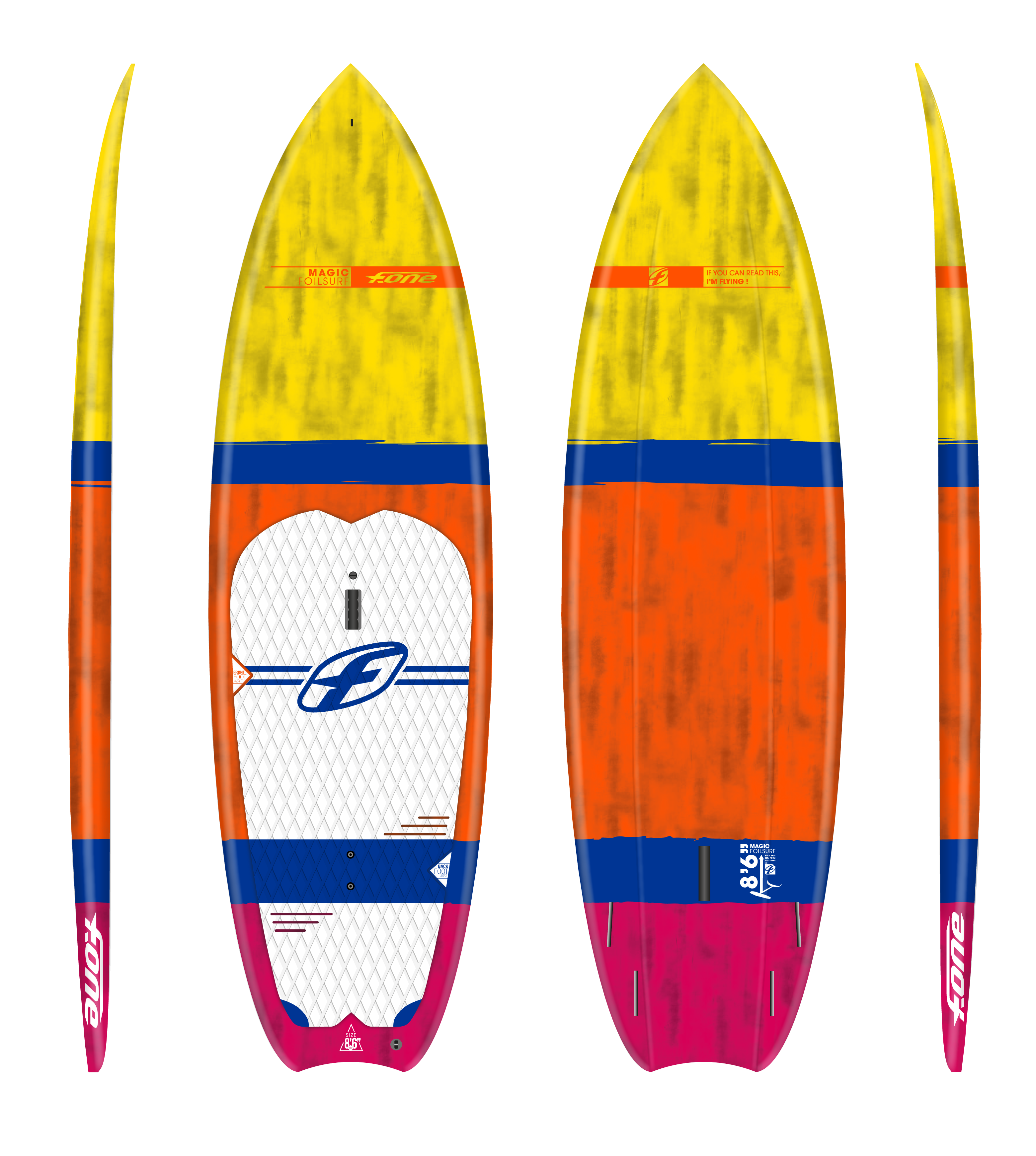 MAGIC SUP FOIL 8-6