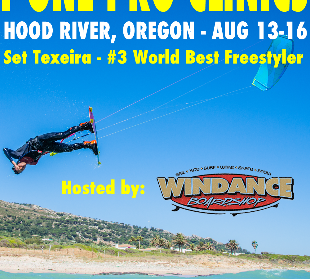 F-One Pro Kite Clinics Hood River, Oregon - August 13-16 | Bay Area